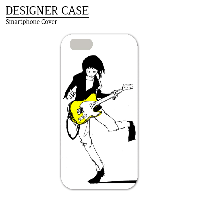 iPhone6 soft case [Telecaster2]  Illustrator:Kawano