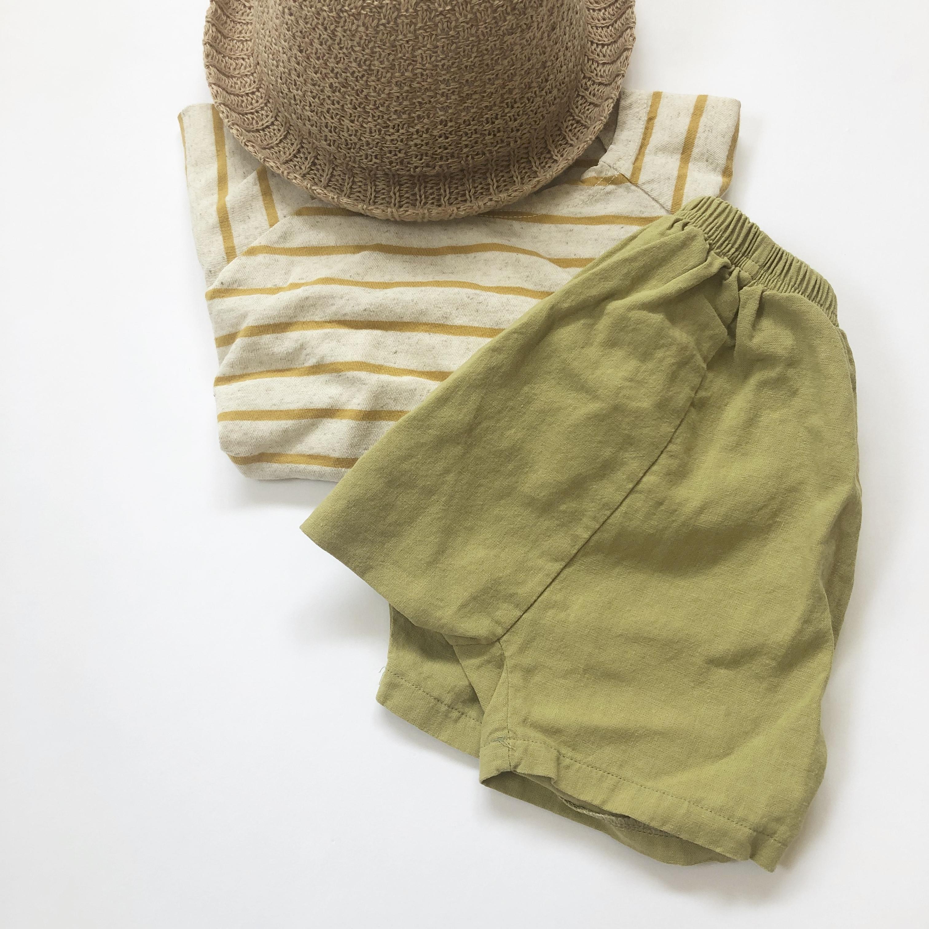 〈 214 〉Baby saruel pants