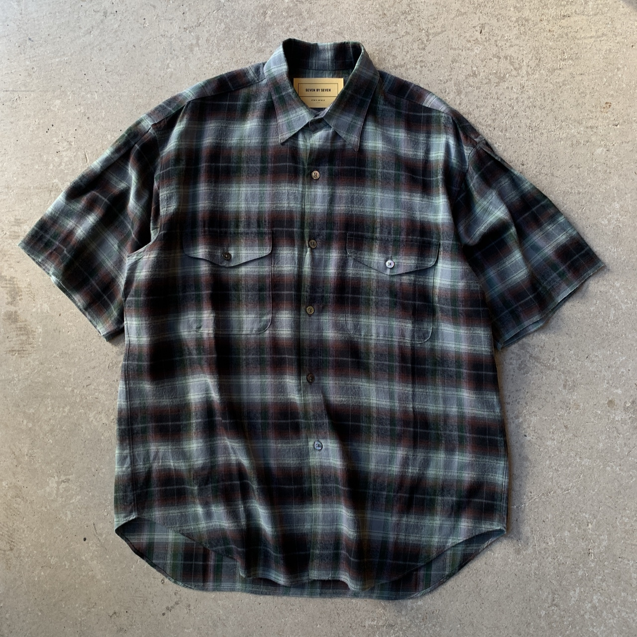 SEVEN BY SEVEN - TUCK SHIRTS S/S
