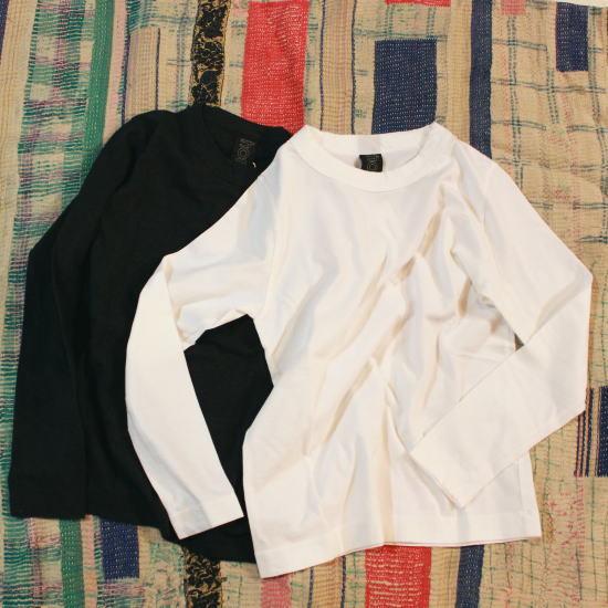 homspun (ホームスパン) 天竺長袖Tシャツ 全2色 6616 - 画像1