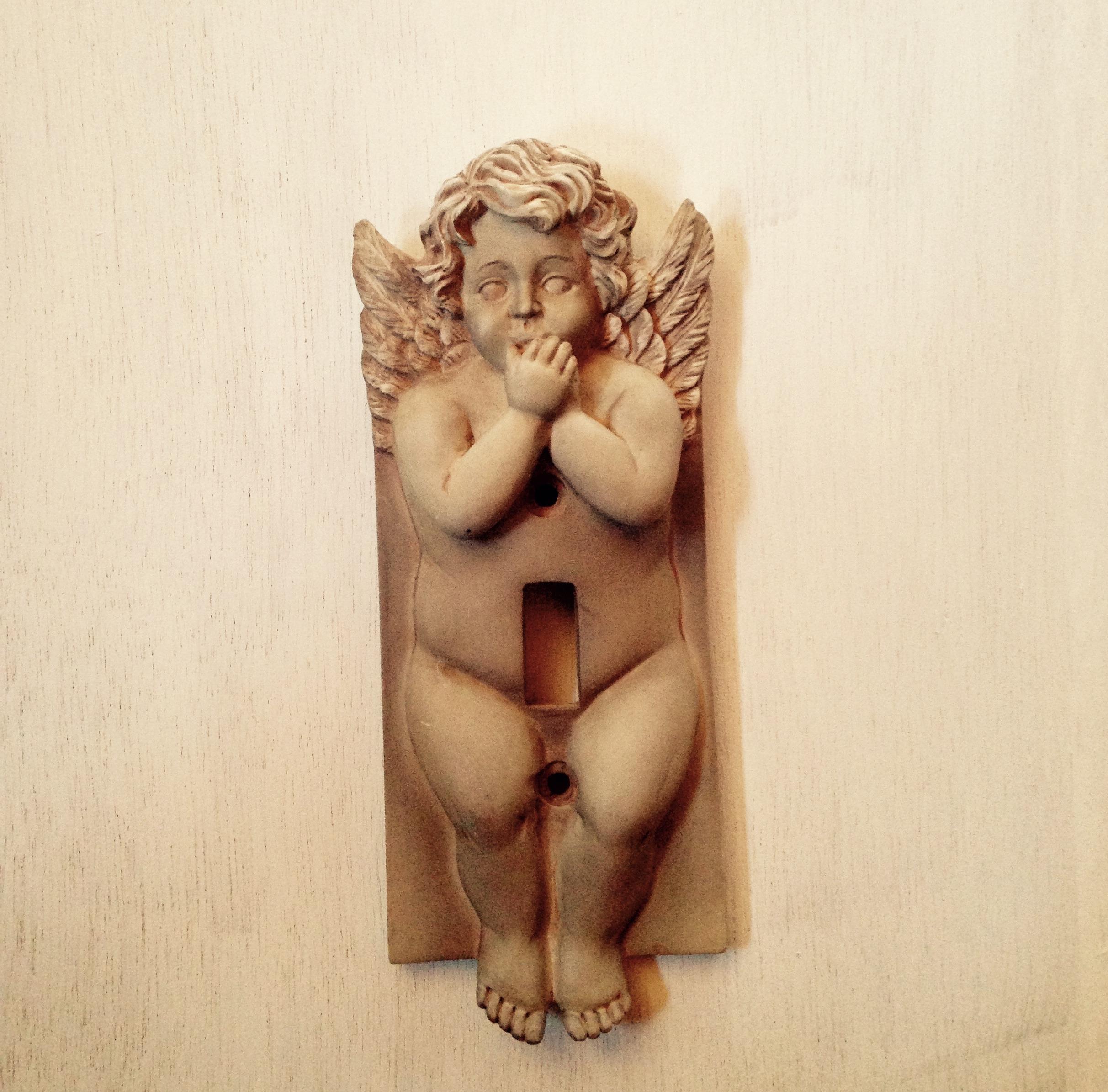 天使のスイッチカバー アメリカ仕入れ