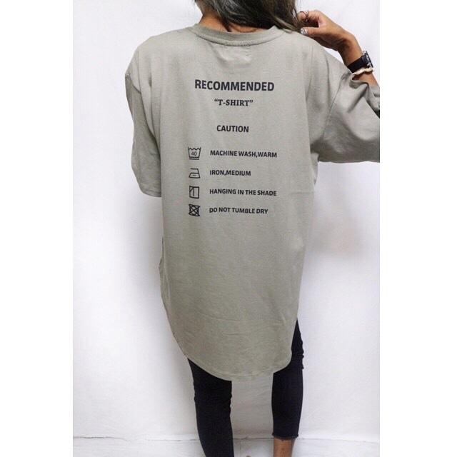127c5f63ea2 Bigシルエットタグtシャツ/カーキ   surf サーフshop rioz