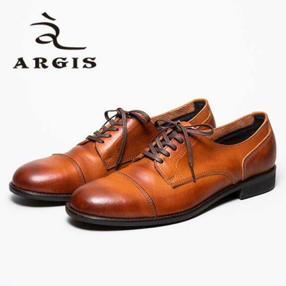 アルジス レザー シューズ カジュアル メンズ 靴 ARGIS 21138 ブラウン