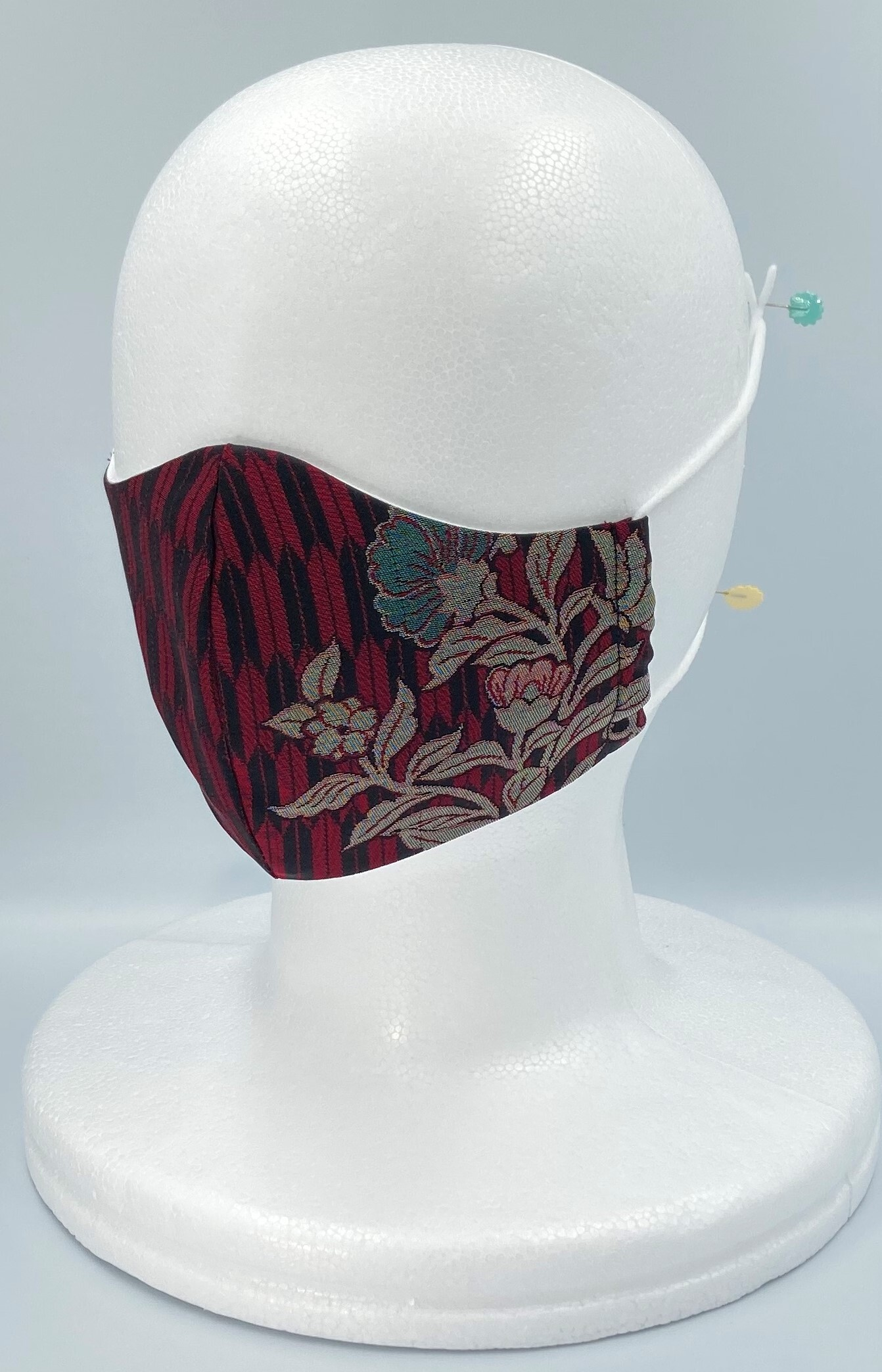 リメイク着物マスク A020