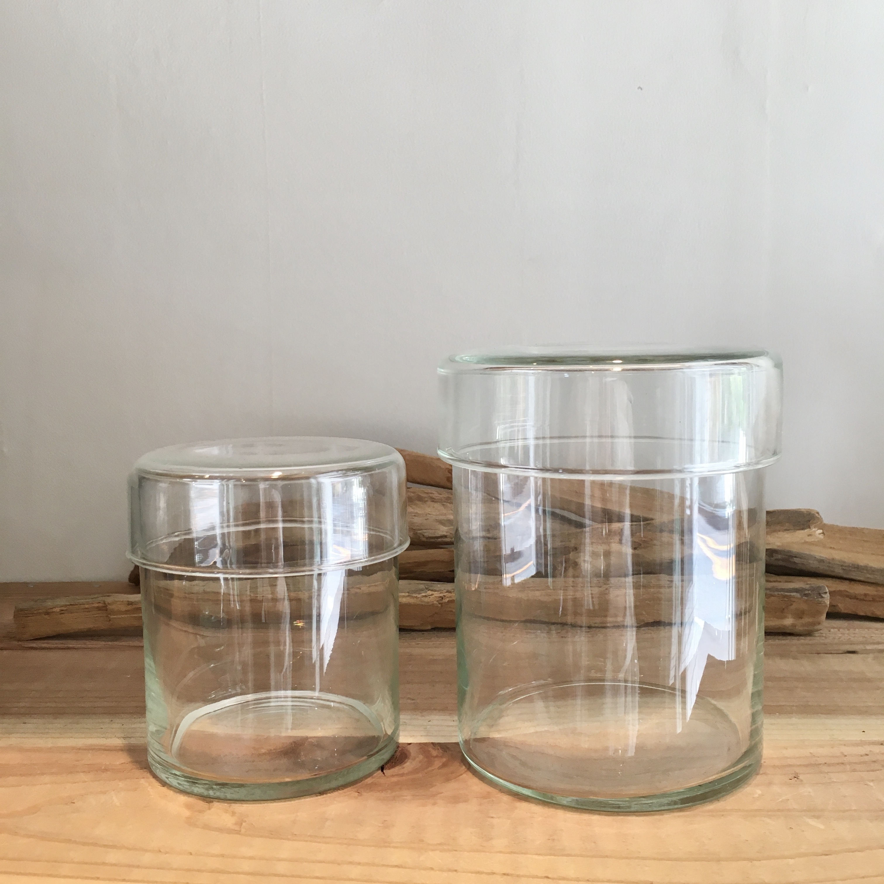 """ Reuse glass Canister M / リューズガラス キャニスター M """