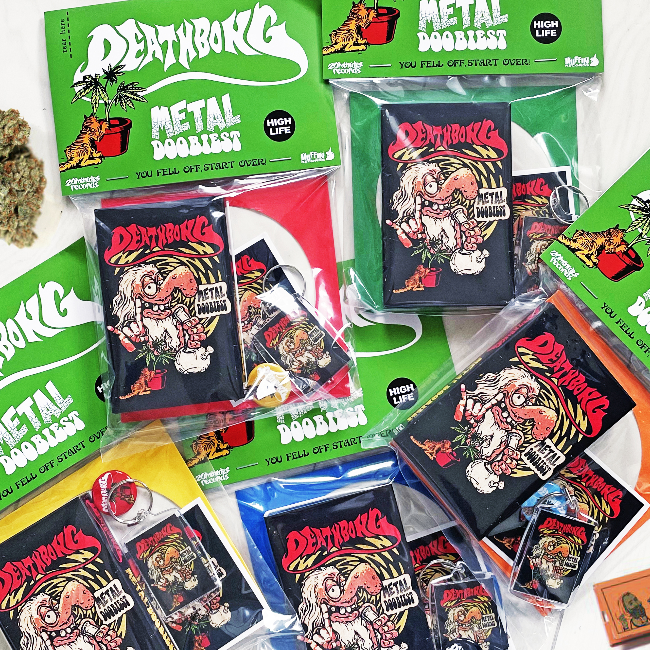 """DEATHBONG CASSETTE PACK """"BLACK DALLAS Limited Edtion"""" 2nd. EP"""