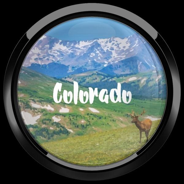 ゴーバッジ(ドーム)(CD1078 - COLORADO) - 画像2