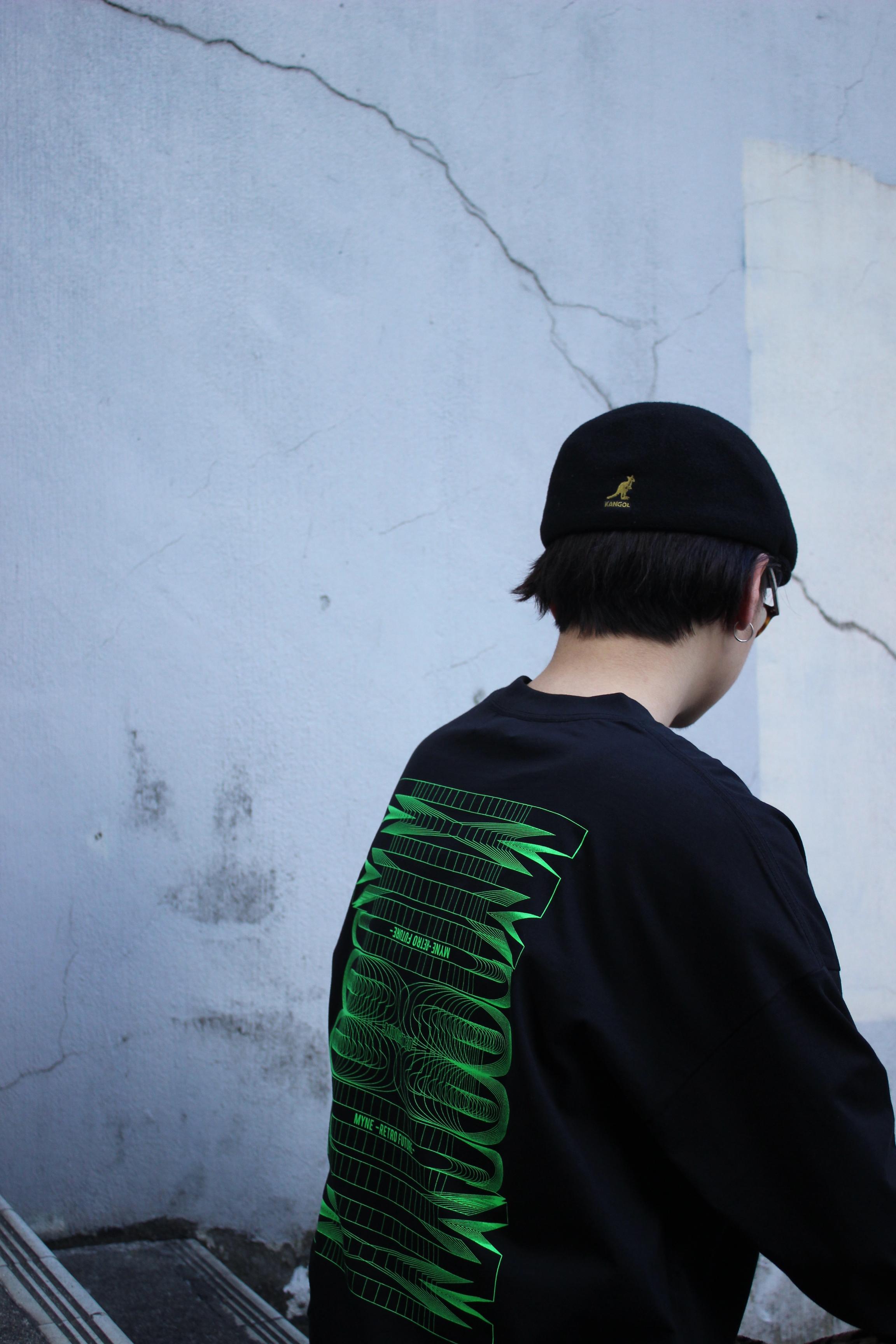 Neon MYne L/S T-shirt / BLACK - 画像4