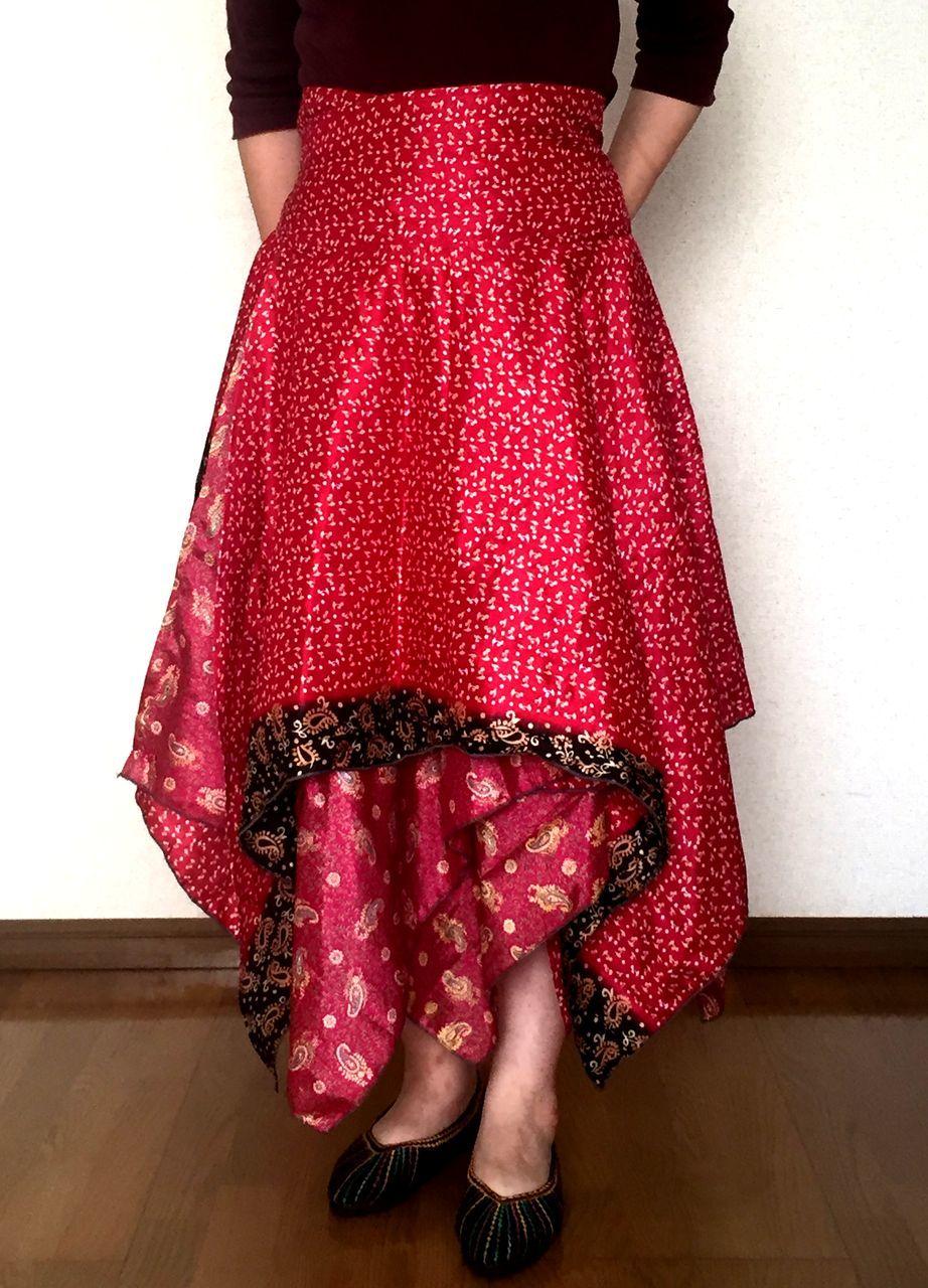 dsz-033 シルクサリーギザスカート