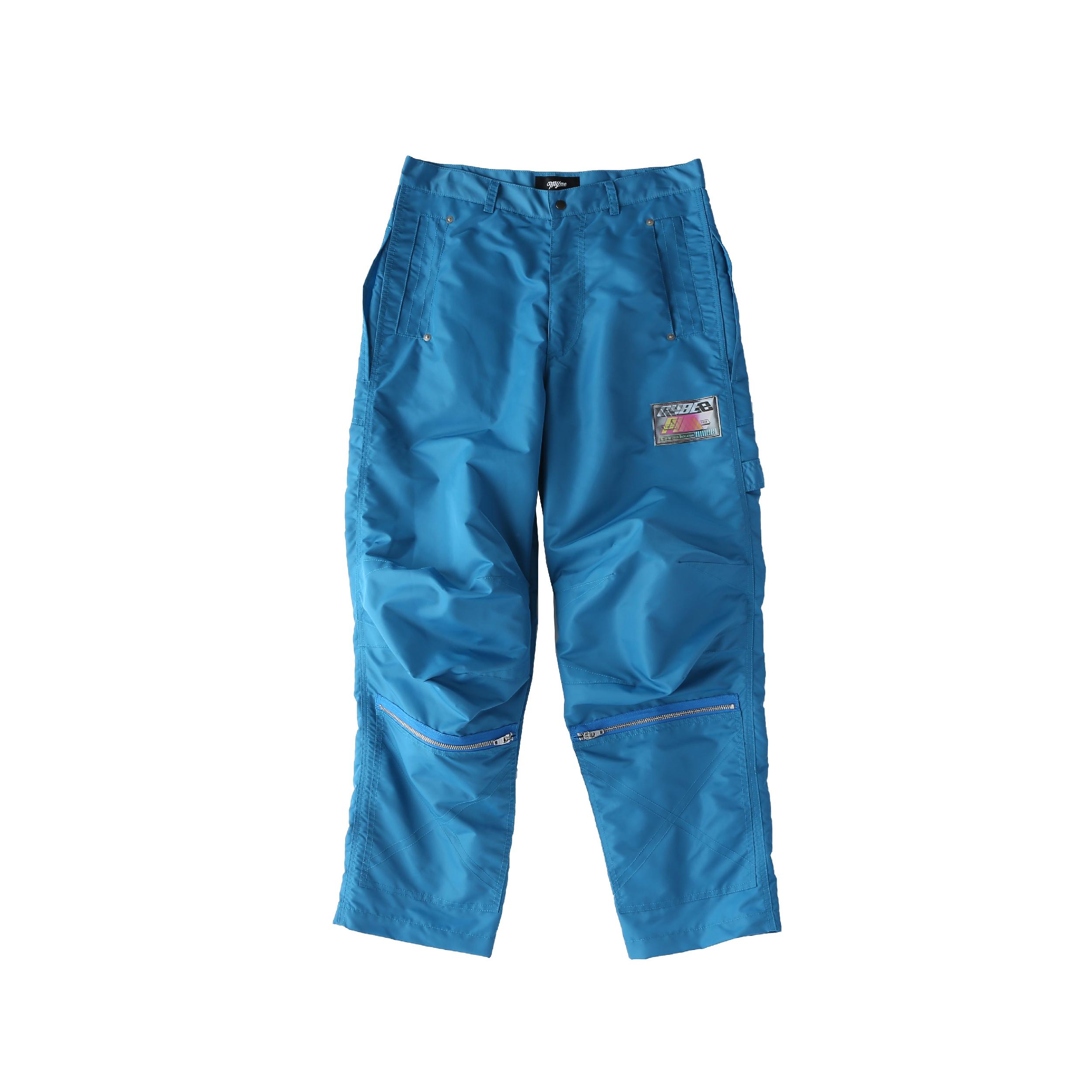 Nylon painter pants / BLUE - 画像1