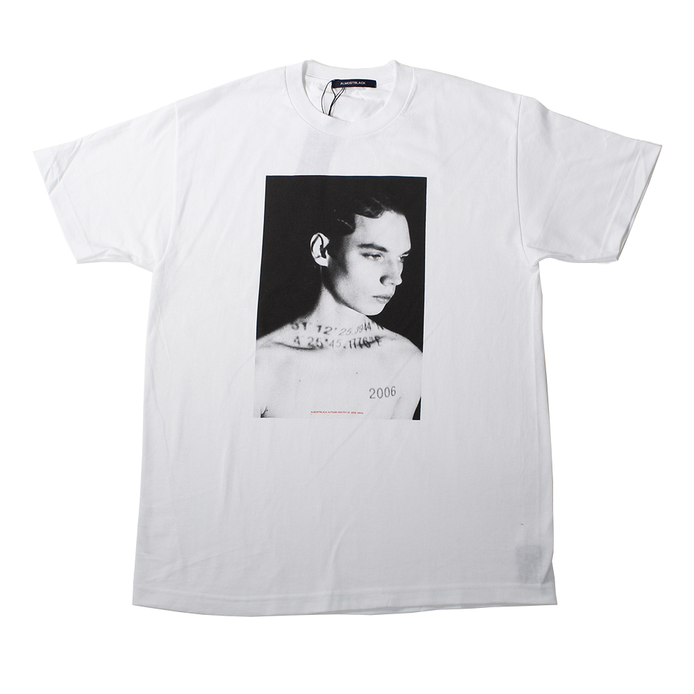 ALMOSTBLACK X IDEA BY SOSU Exclusive Tee White