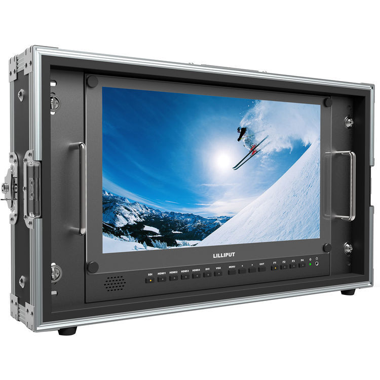 Lilliput社・BM150-4K・4K解像度パネル搭載15.6インチモニター、マウントハードケース付属