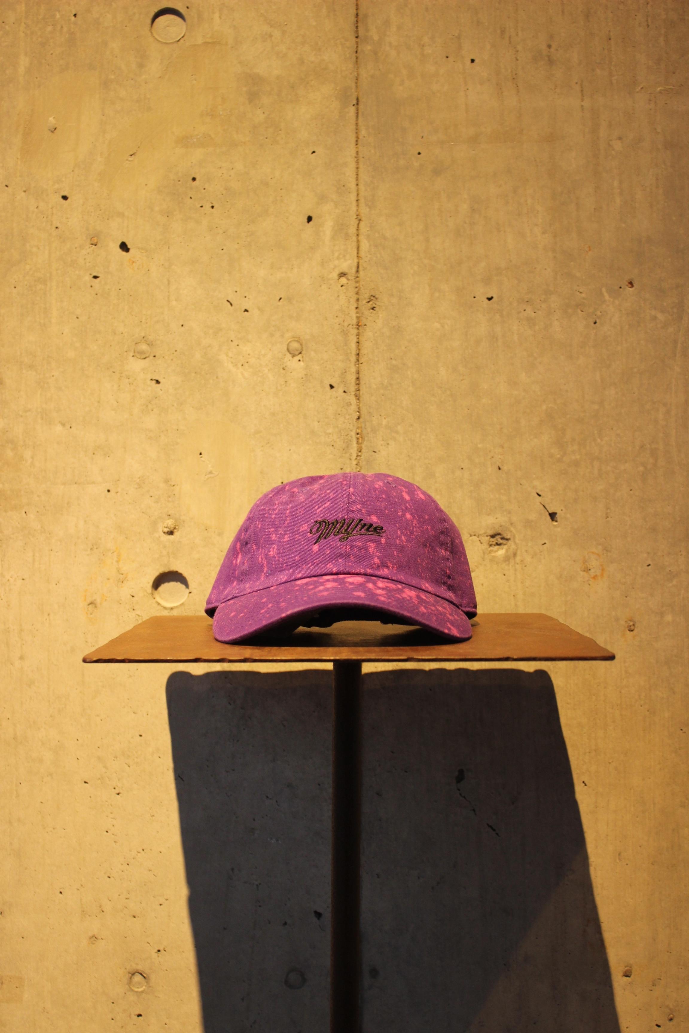 【50%OFF】bleached cap / PURPLE - 画像1