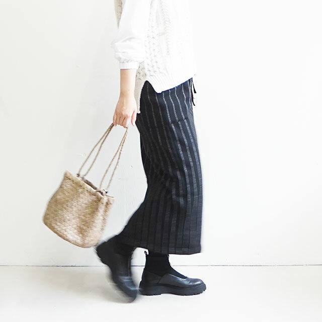 NARU ナル ツイードストライプタイトスカート (品番635811)