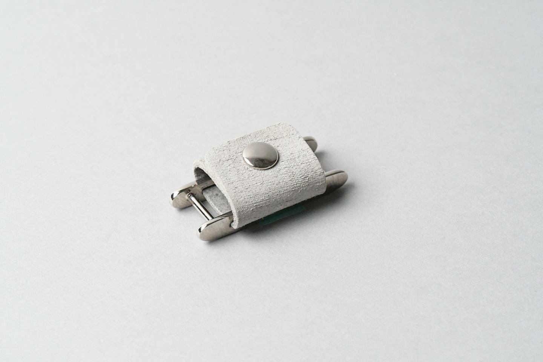 イヤホンコードホルダー ◻︎グレー◻︎ earphone cord holder - 画像1