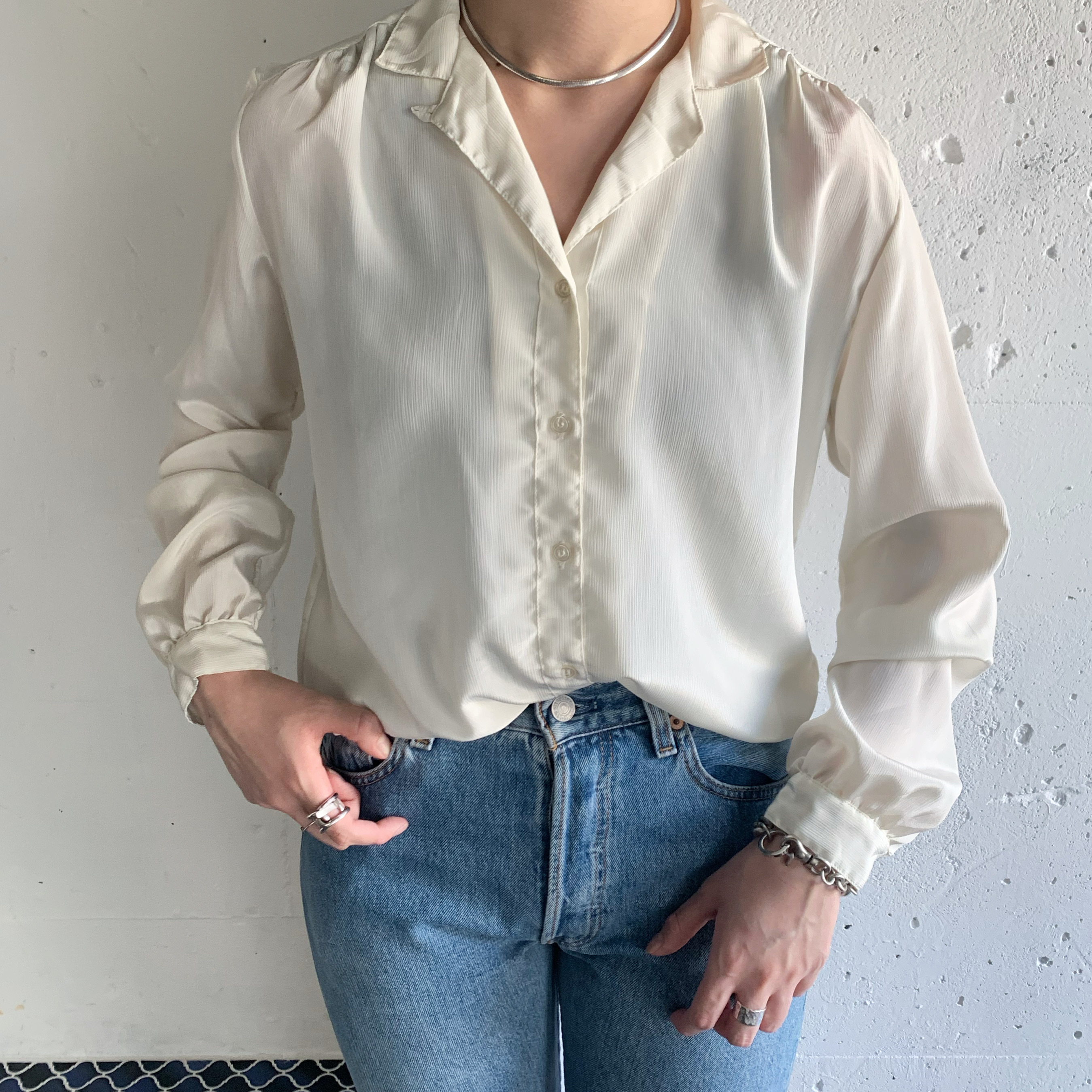 made in japan vintage blouse