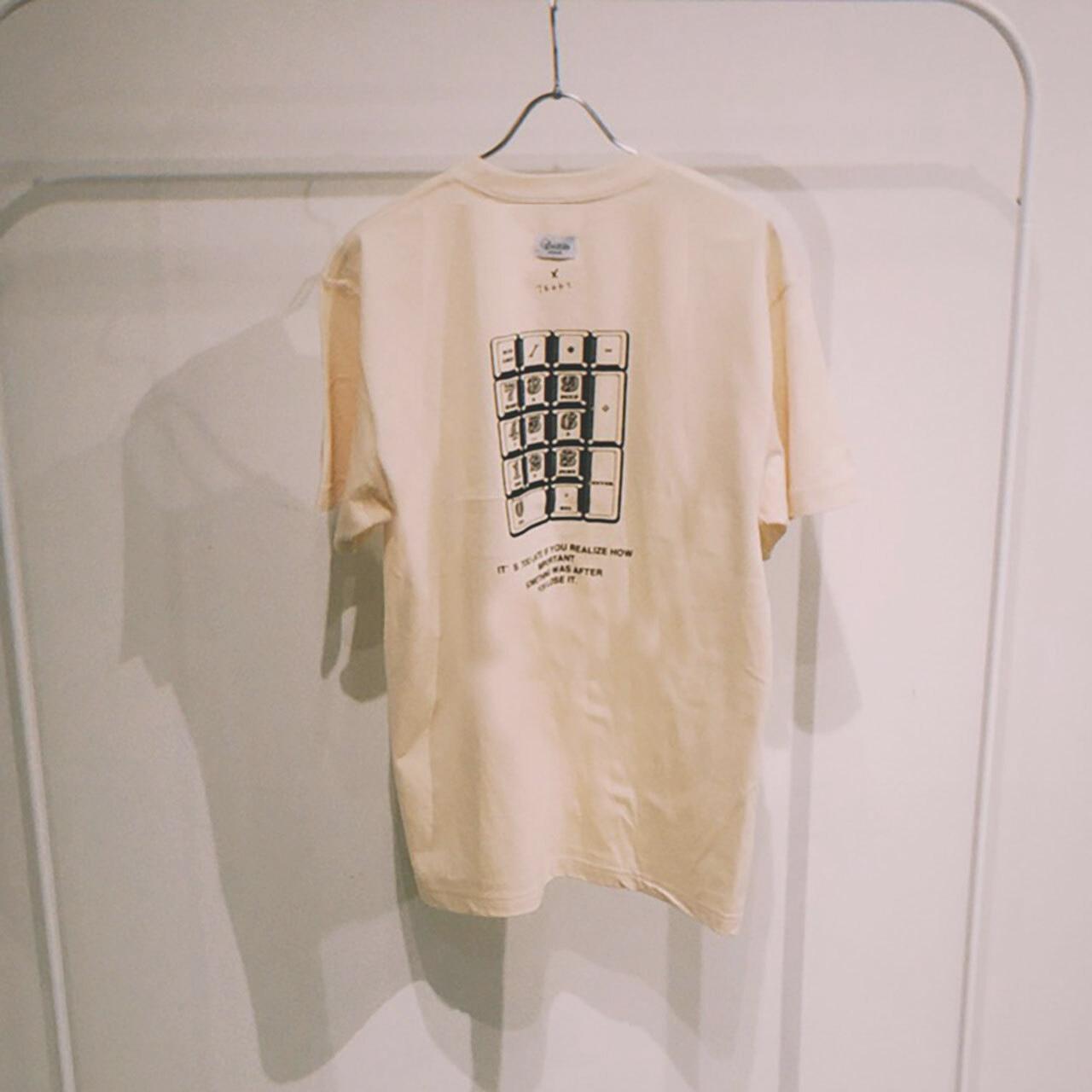 TENKI × A Man Collaboration Tee Cream × Black