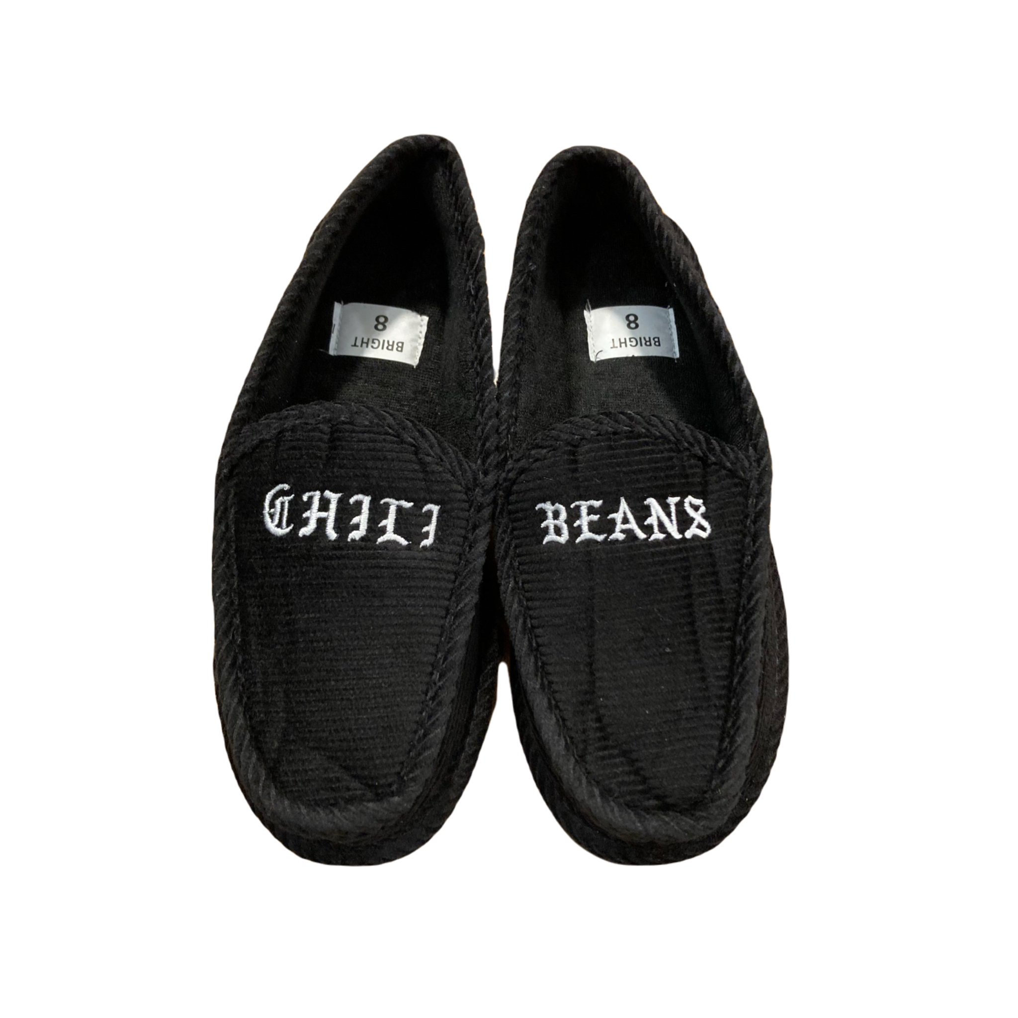CHILI BEANS #Corduroy House Shoes