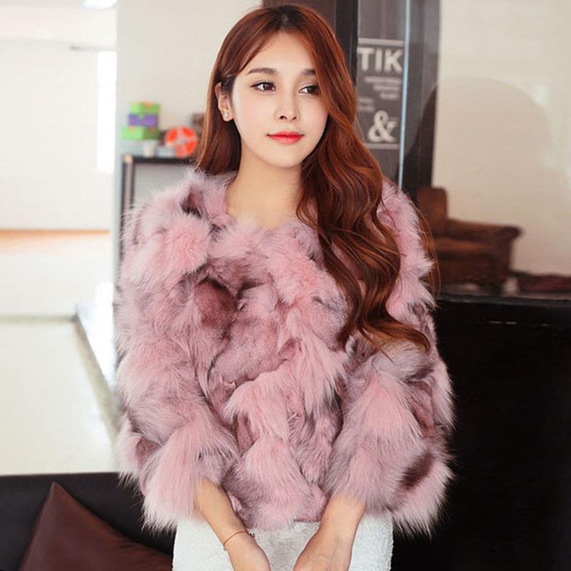 【アウター】ファーファッション配色合わせやすいコート14949625