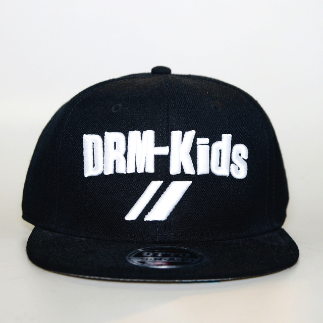 DRM CREW SNAP BACK (BLACK×WHITE)