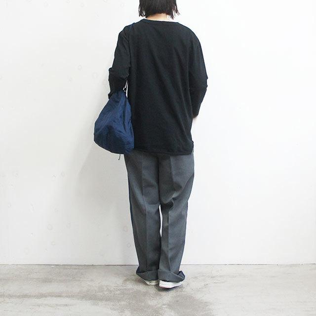 have a good day ハブアグッドデイ 9/10ルーズT レディース カットソー ロンT 無地 ゆったり 通販 (品番hgd-038)