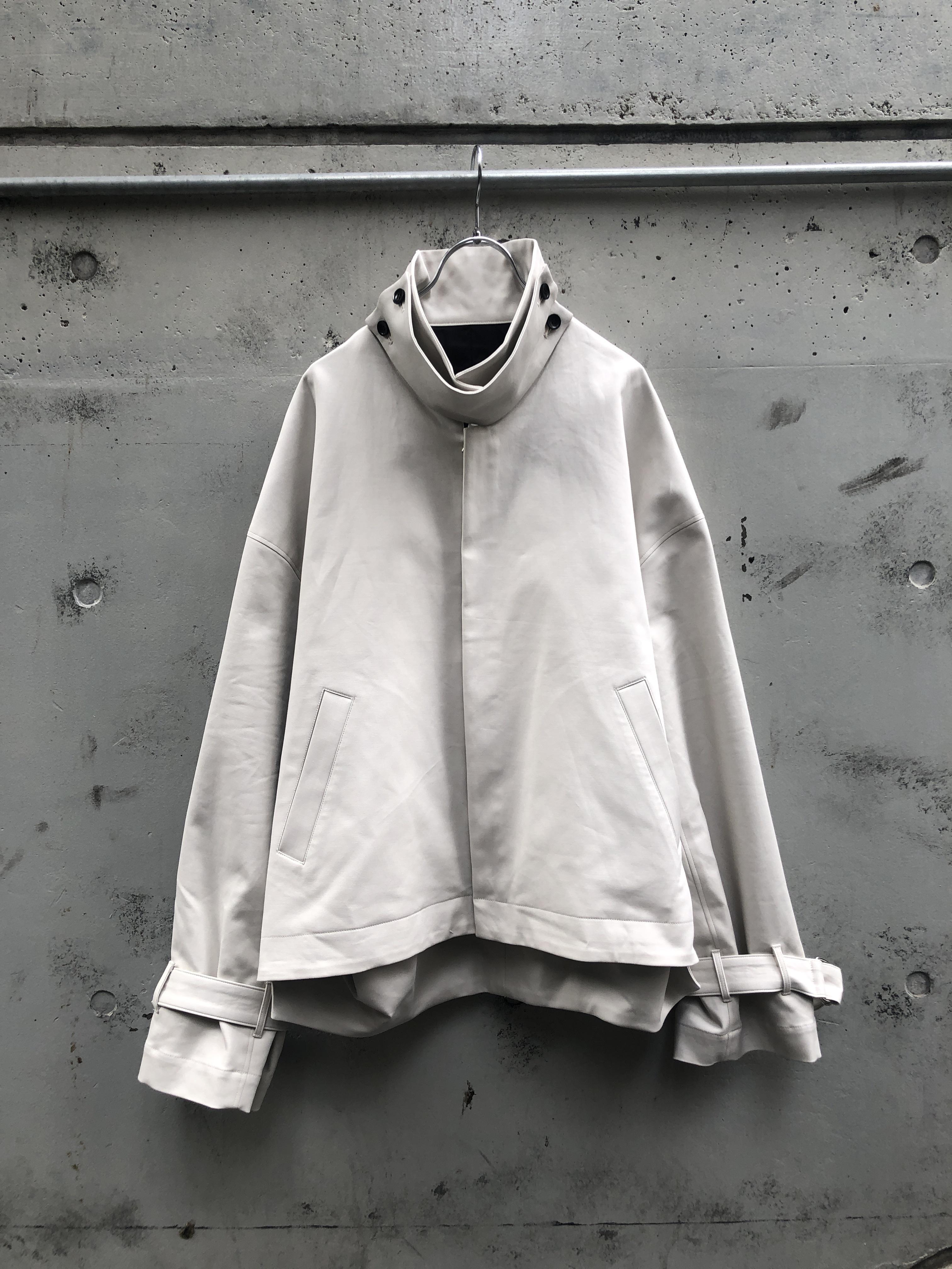 『my beautiful landlet』double cloth short blouson / OFF WHITE