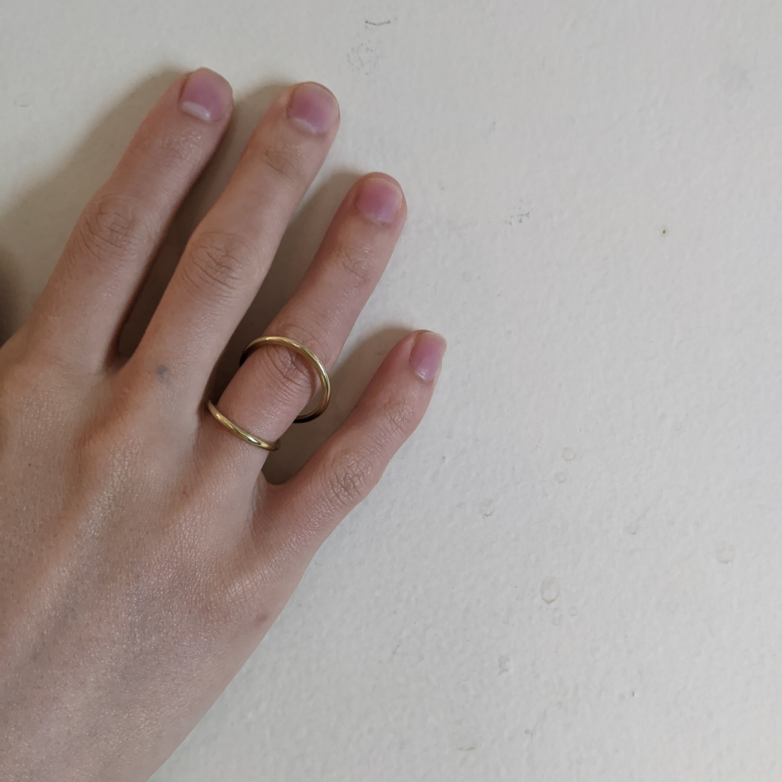 再入荷【 jomathwich 】brass earcuff / E-68  真鍮イヤーカフ /片耳販売 / リング2way可能