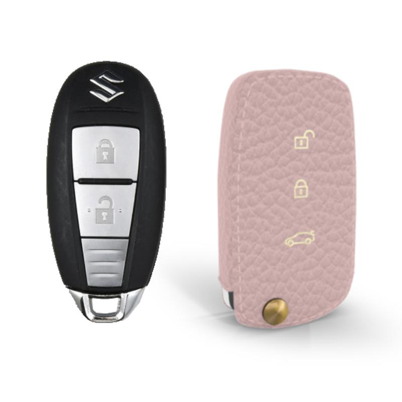 Suzuki専用 TypeB Car Key Case Shrink Leather Case
