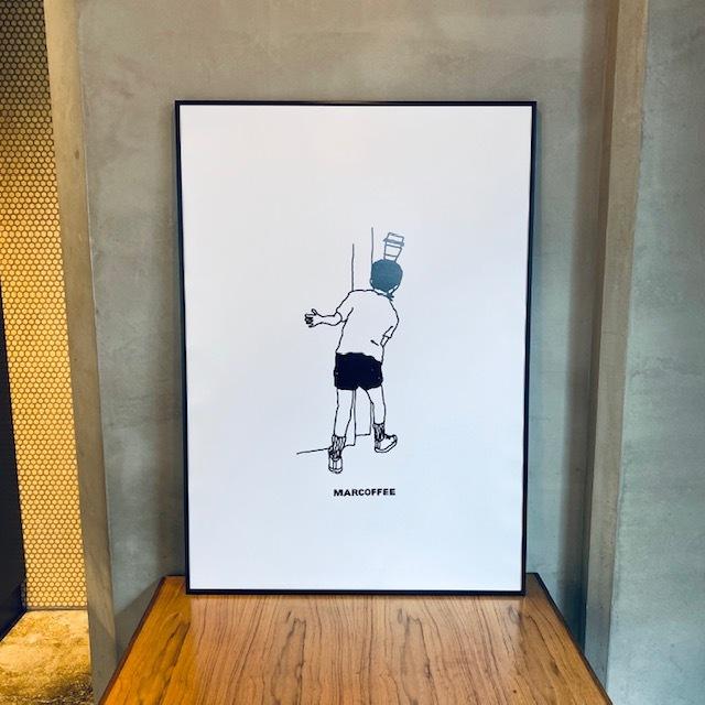 "marcoffee × sayuri nishikubo  ""BOY"" poster【size】A1"