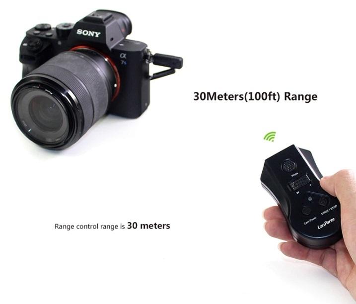 Lanparte社・LRC-01・SONYα7, α7II, α7II、α9シリーズ、α6000シリーズカメラ、リモートコントロールユニット