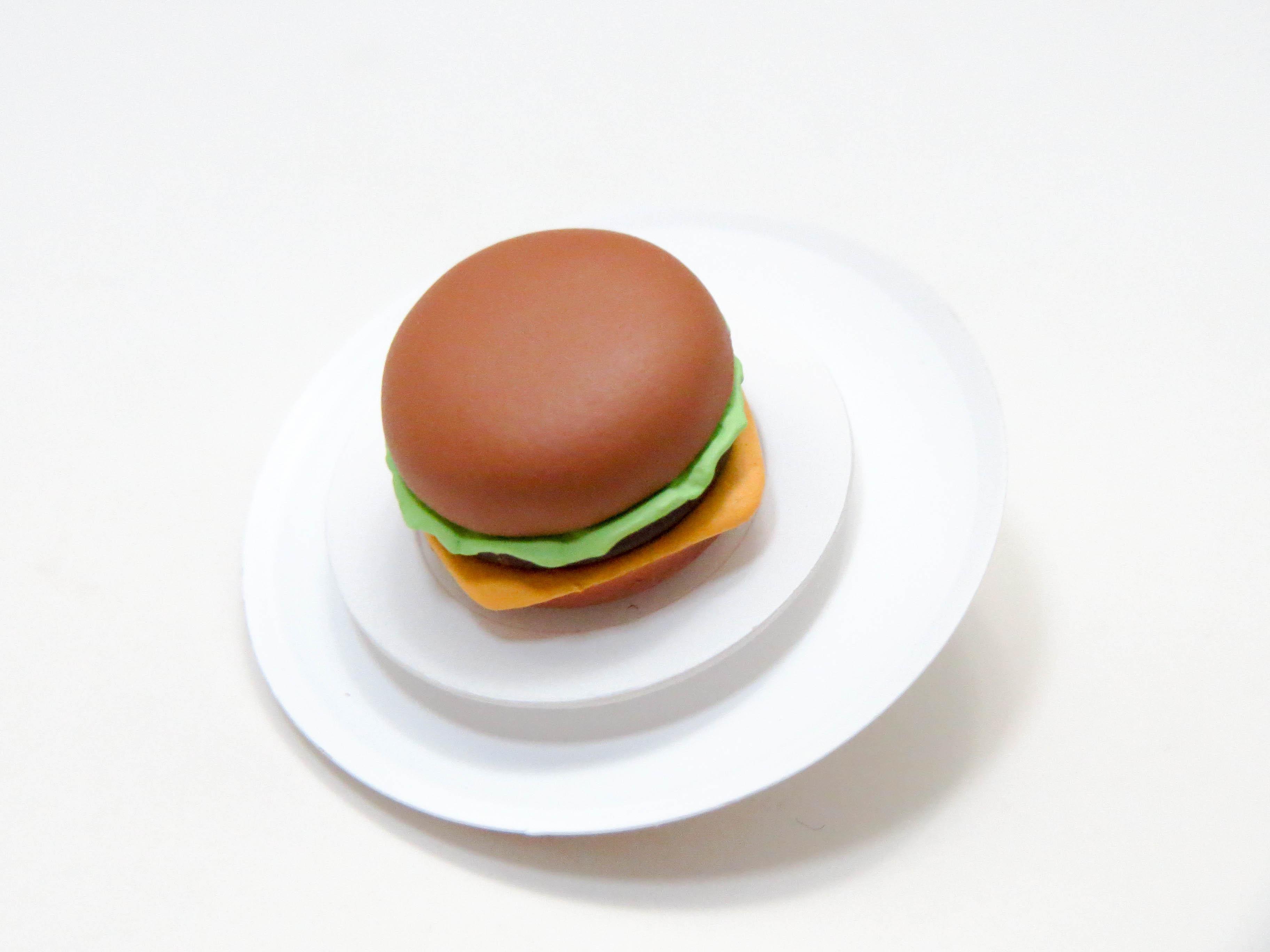 再入荷【322】 水樹奈々 小物パーツ ハンバーガーとお皿とおぼん ねんどろいど