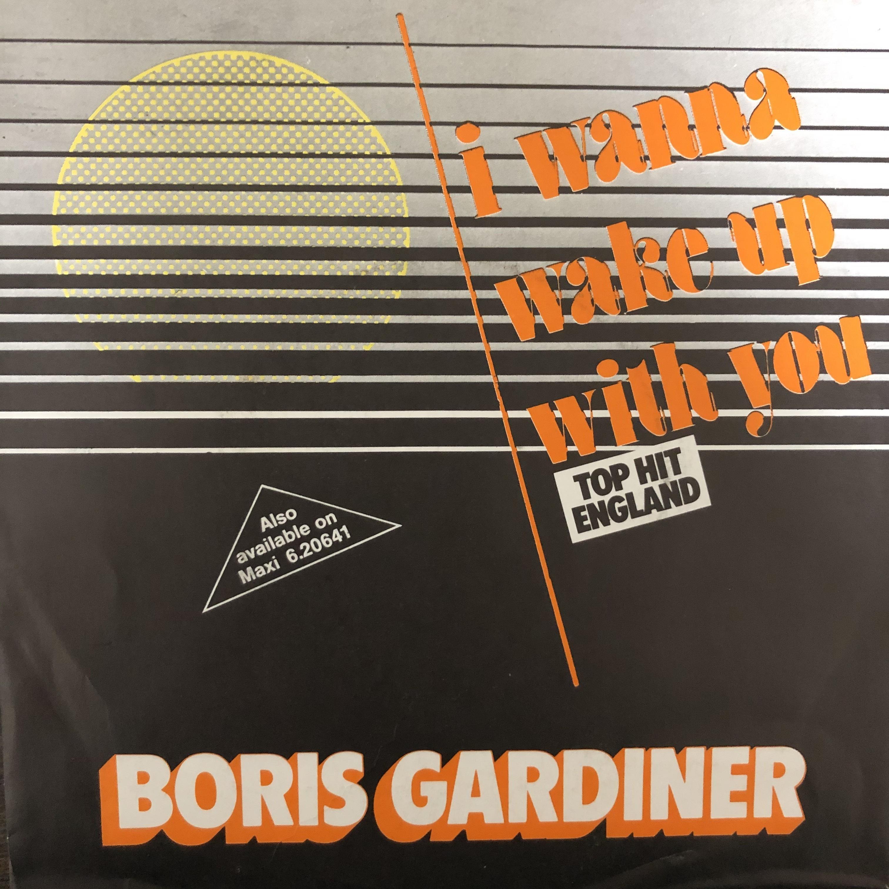 Boris Gardiner - I Wanna Wake Up With You【7-20484】