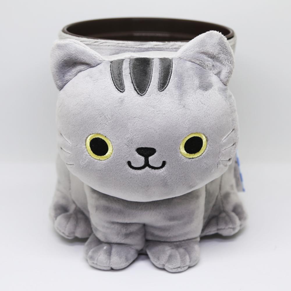 猫ダストボックス(ぬいぐるみダスト)サバトラ