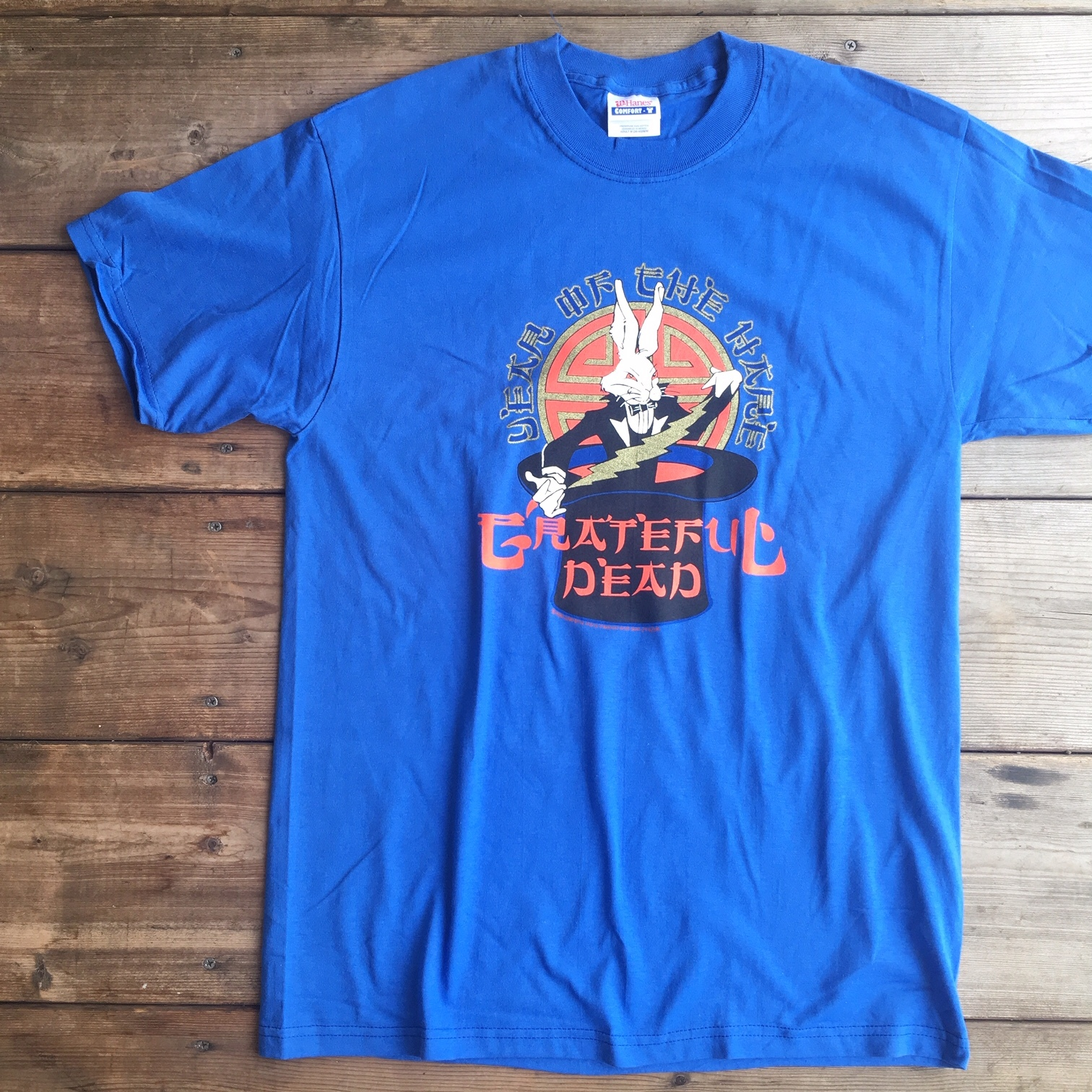 """Grateful Dead """"YEAR OF THE HERE"""" S/S Tee"""