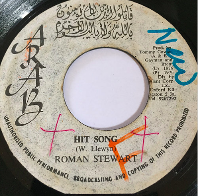 Roman Stewart(ロマンスチュワート) - Hit Song【7'】