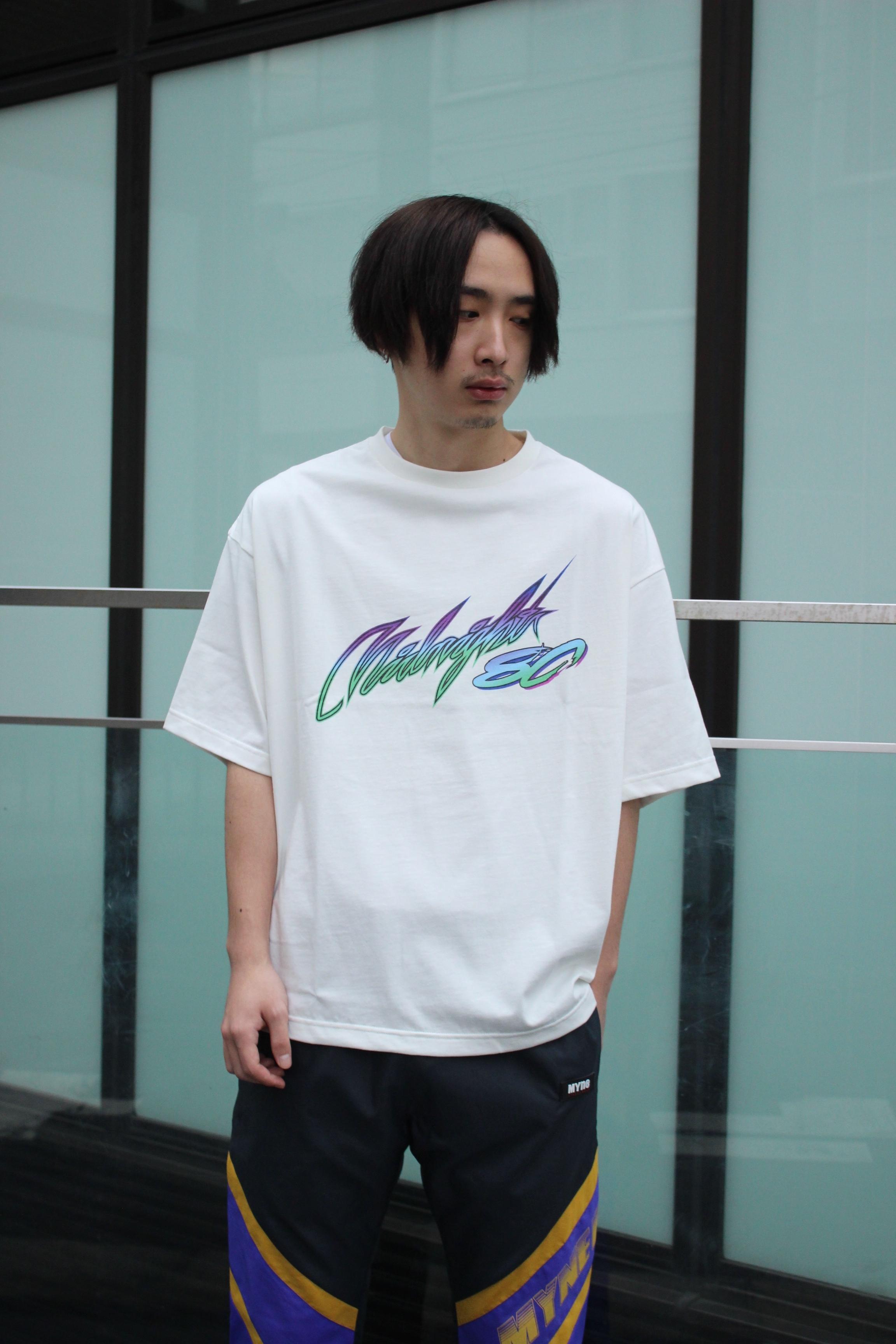 Midnight80 T-shirt / WHITE - 画像2