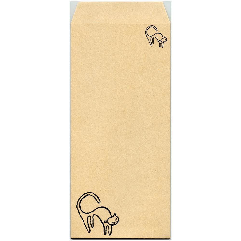 猫封筒(シロネコ)
