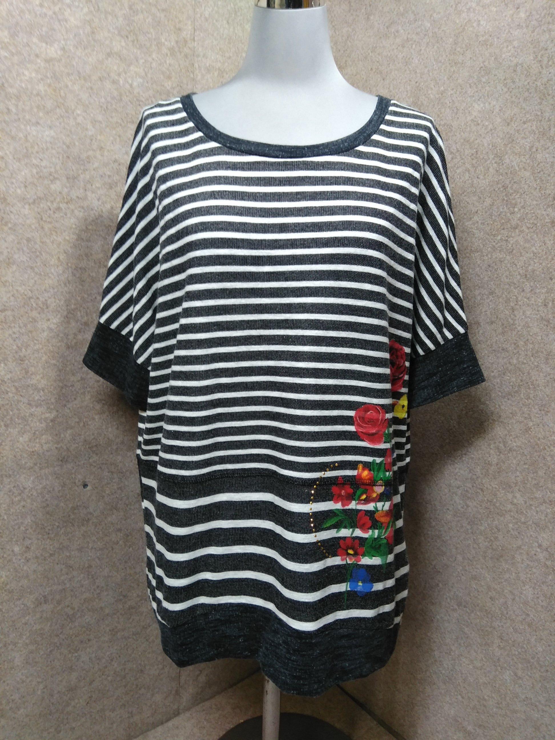 デシグアル desigual ドルマン Tシャツ カットソー S mu475s
