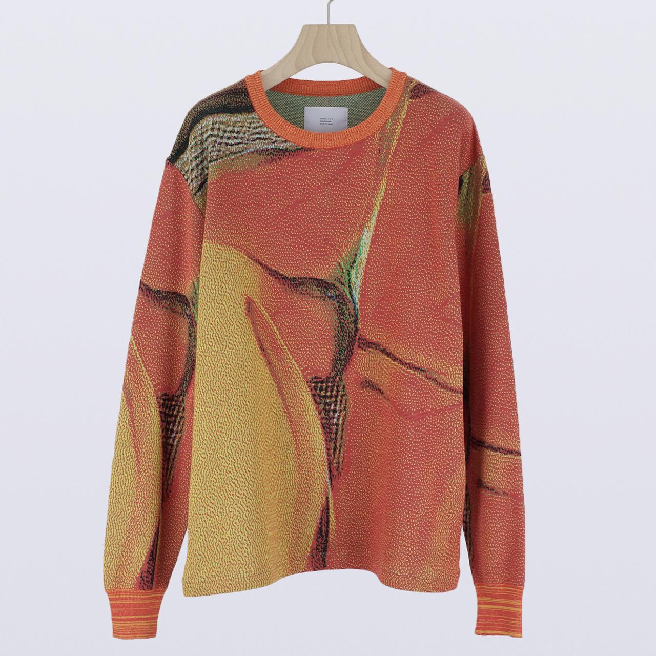 HATRA  Syn Feather Sweater strelitzia
