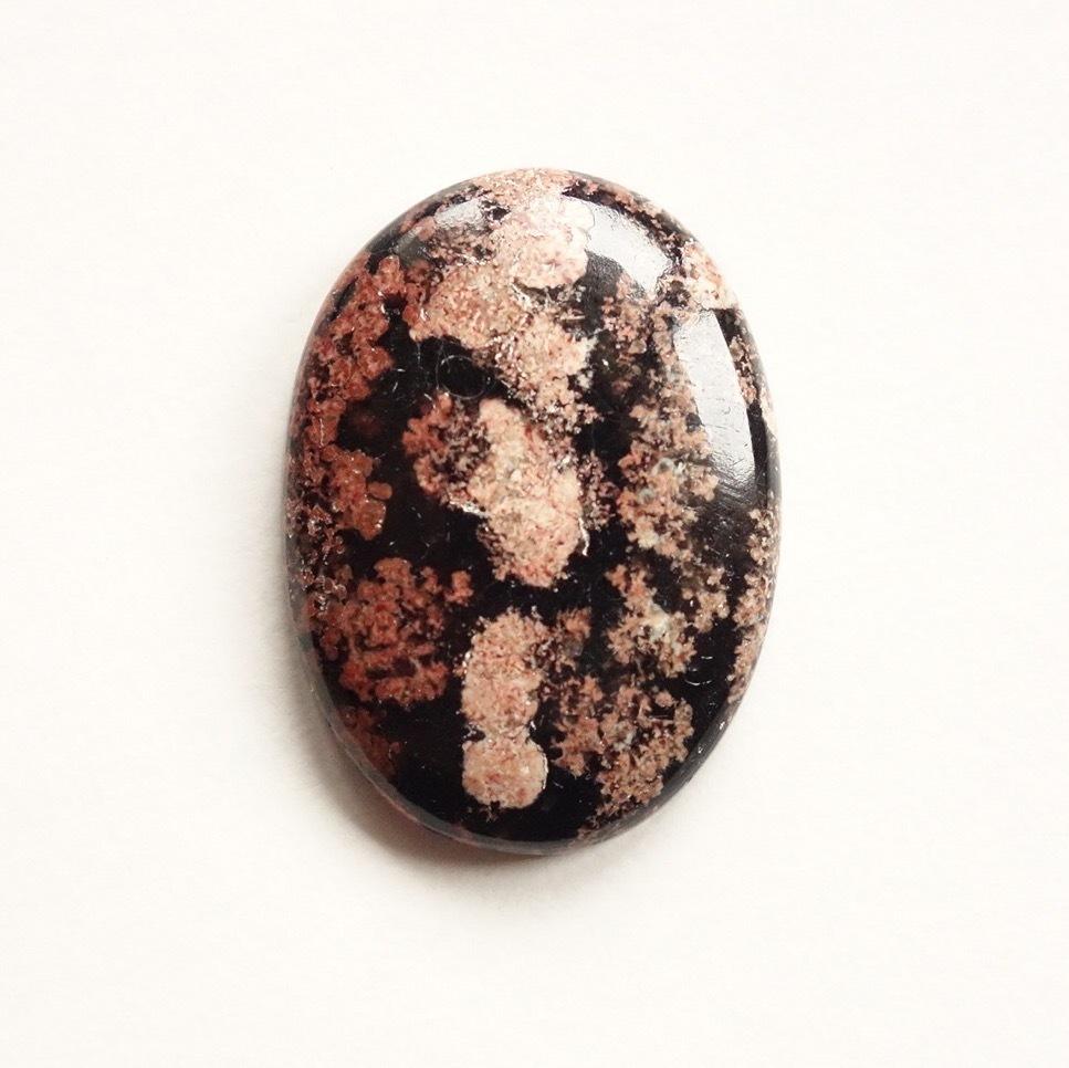 フラワーオブシディアン 天然石ルース