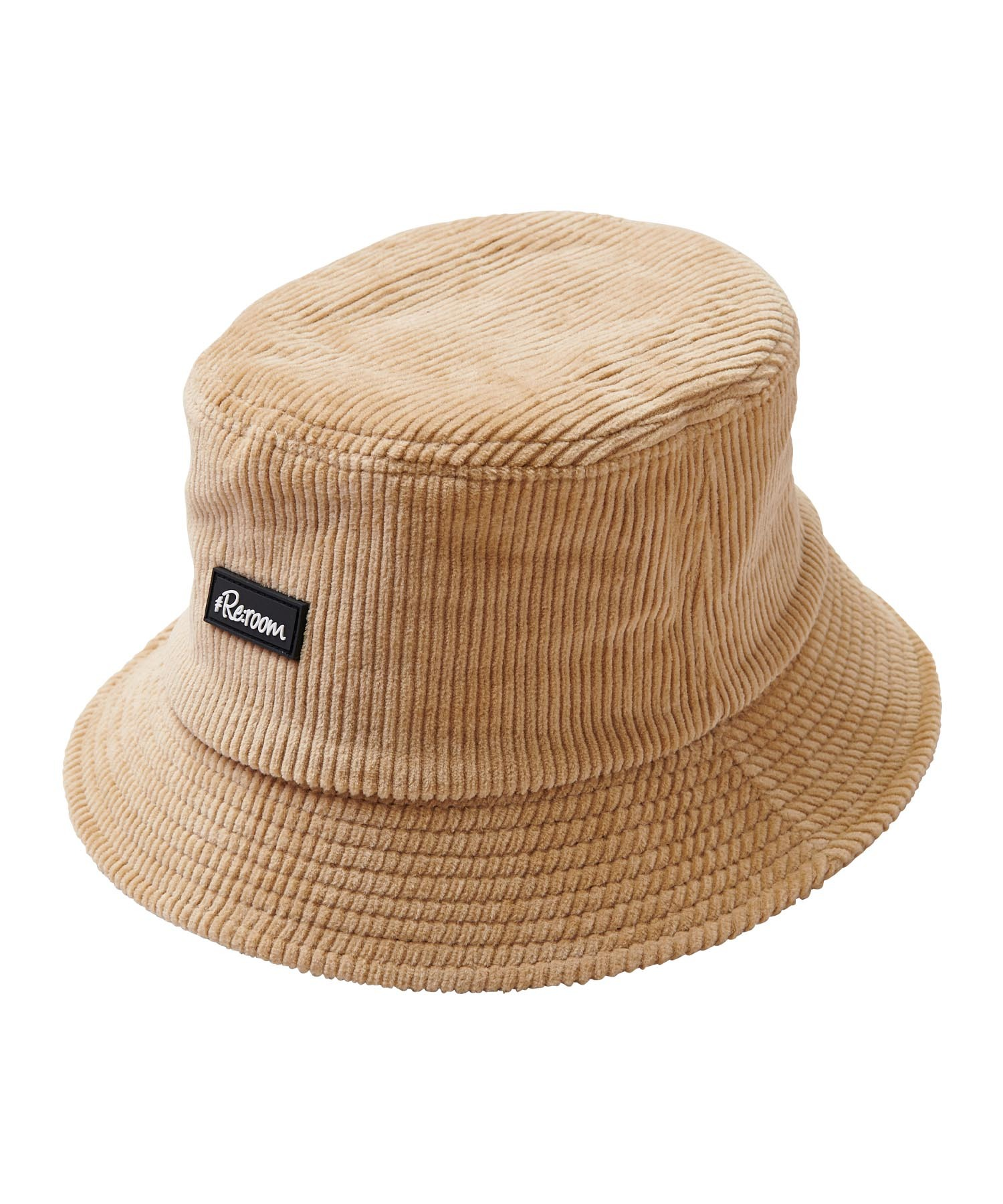 RUBBER WAPPEN CORDUROY BUCKET HAT[REH097]