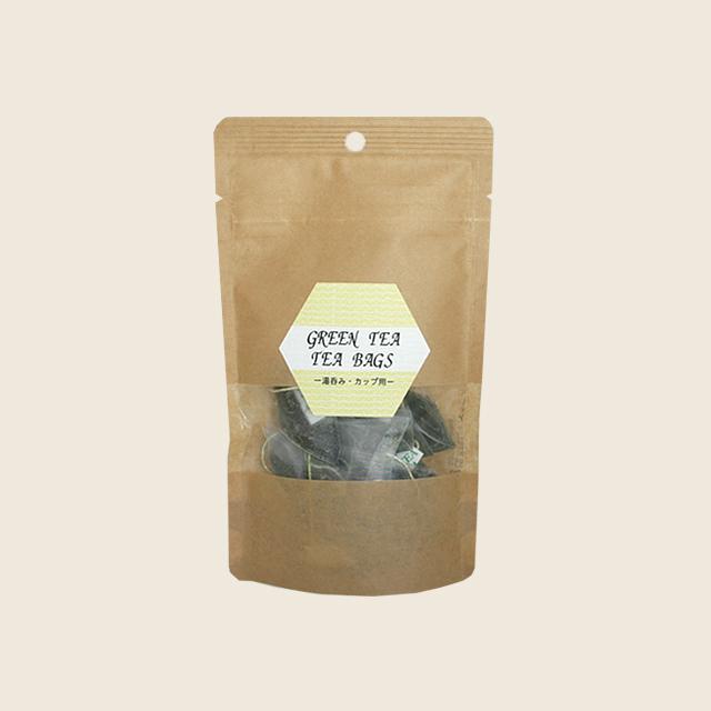 緑茶ティーバッグ 2g x 10個