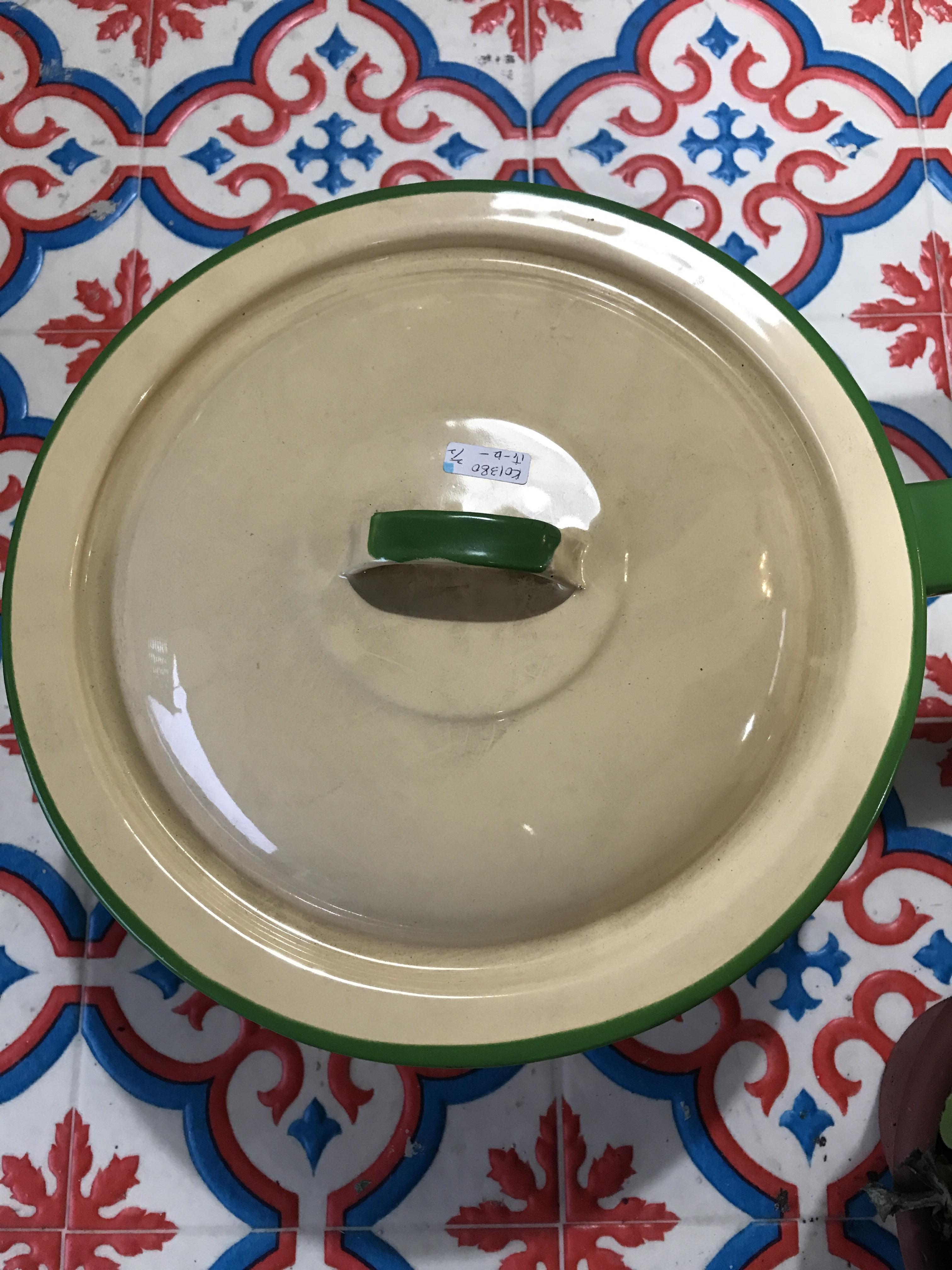 ビンテージ ホーロー鍋