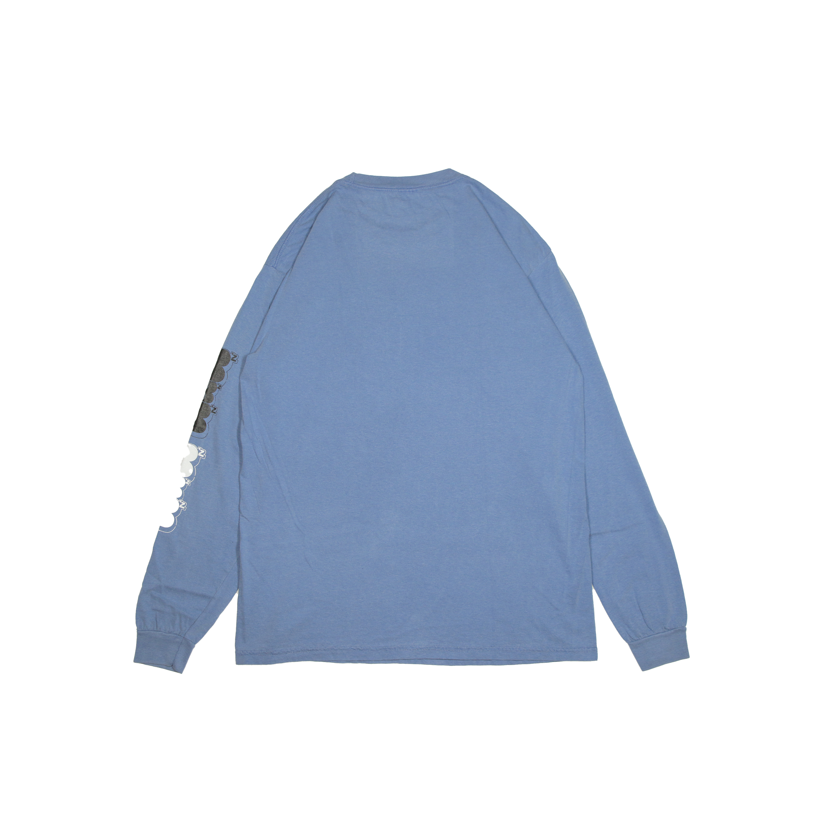 KB VINTAGE BIG L/S TEE [BLUE]