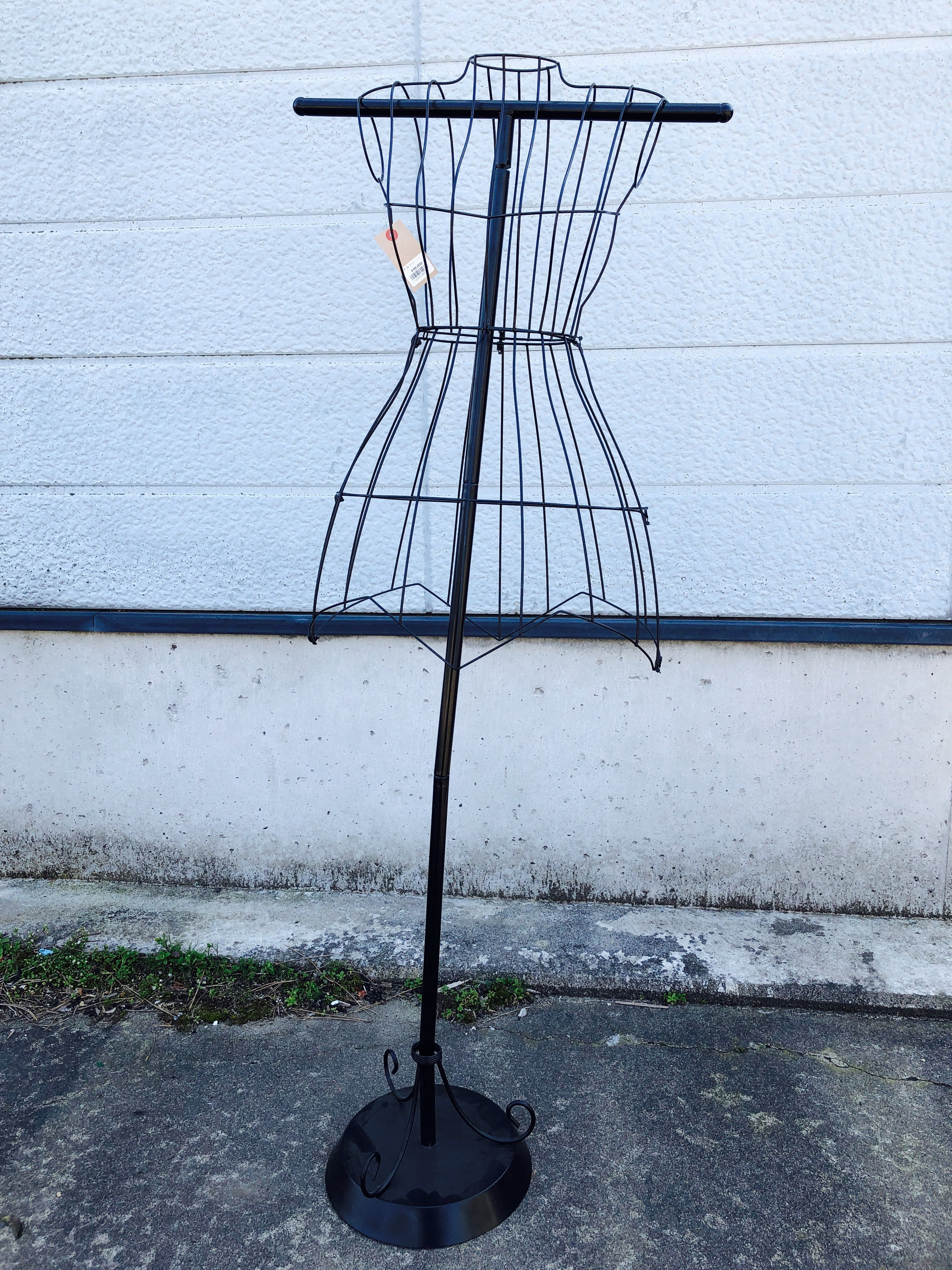 品番1331 ワイヤートルソー マネキン ボディー 針金 ディスプレイ アンティーク ヴィンテージ