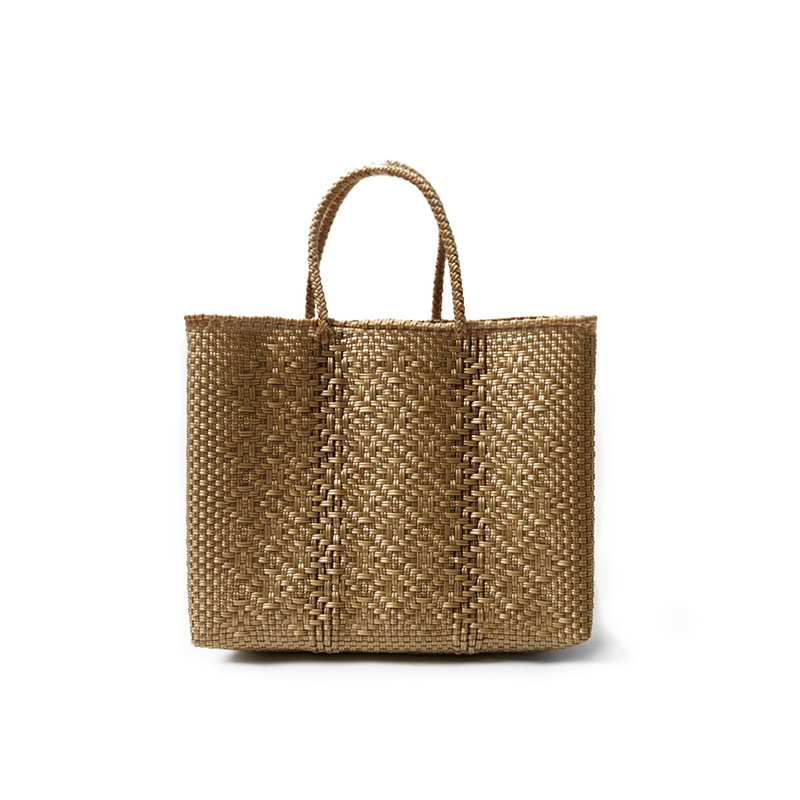 MERCADO BAG ROMBO - Gold(XS)