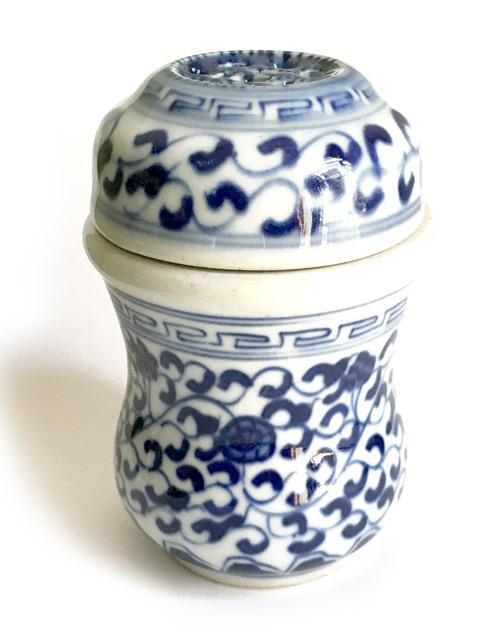 景徳鎮の葫蘆型養盆(虫缶)小サイズ