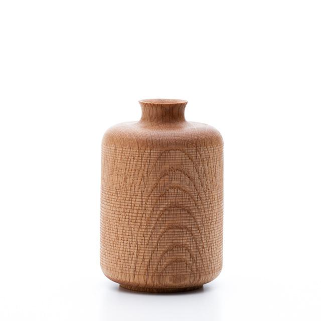 虫喰いの花器 筒 - 画像1