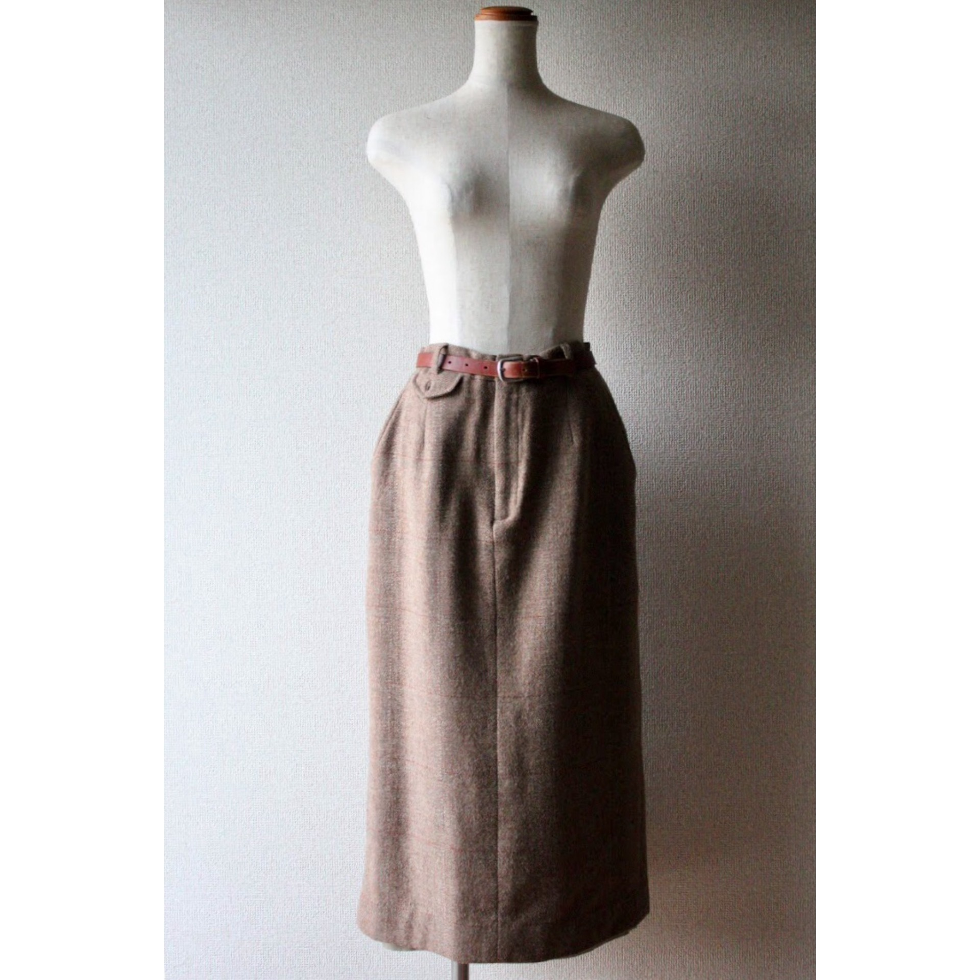 Vintage check skirt by Ralph Lauren