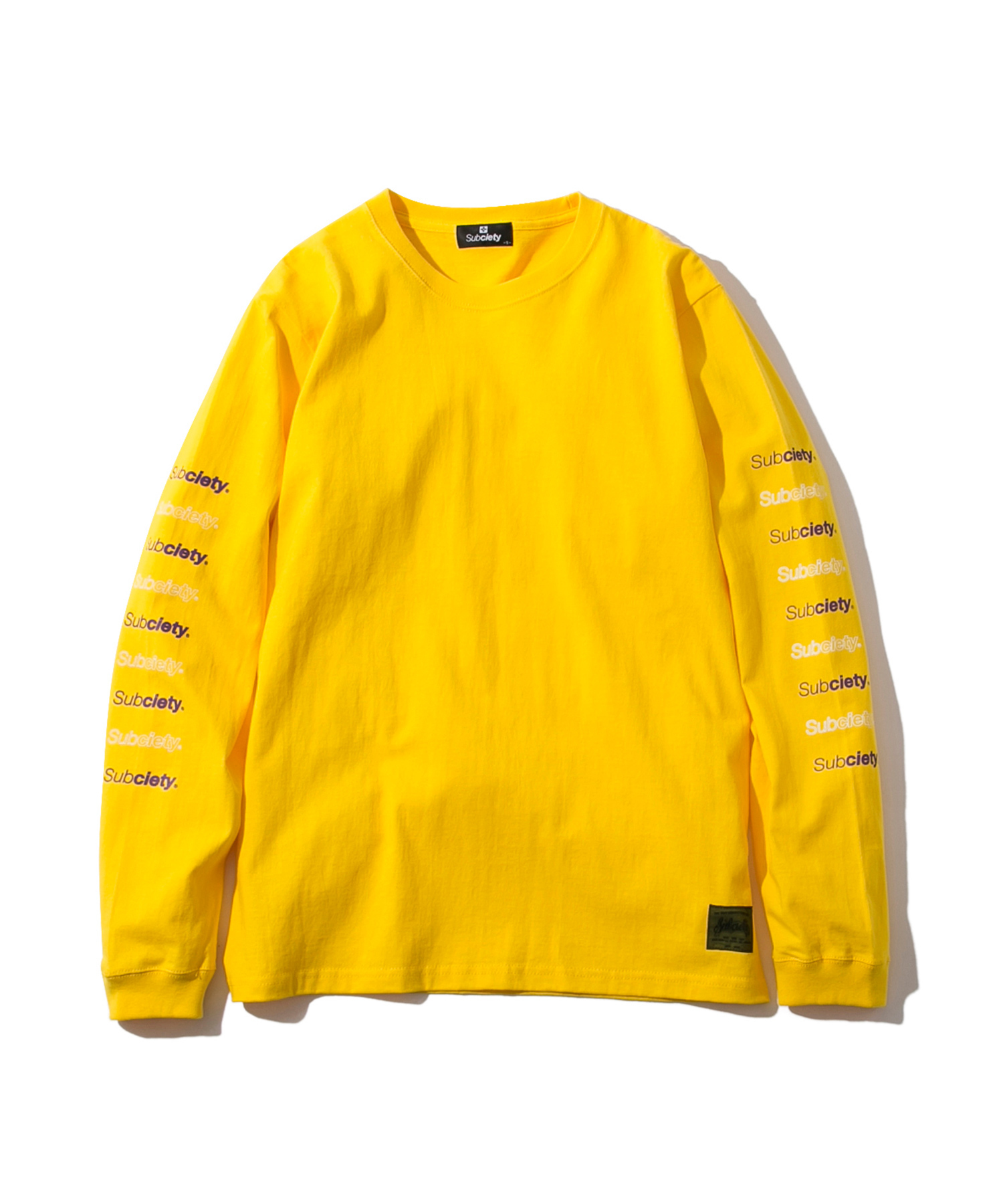 Subciety(サブサエティ) | RE:BASE L/S (Yellow)